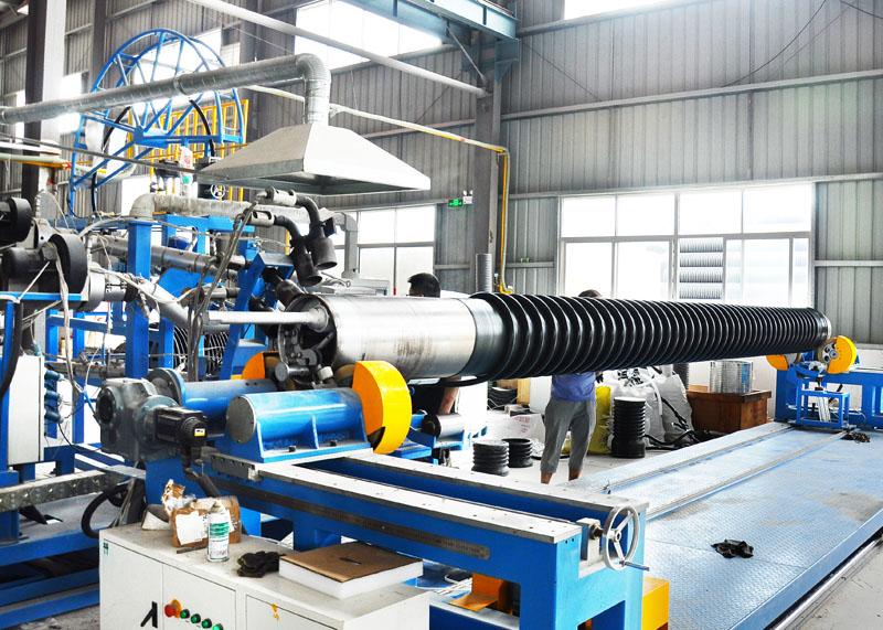 HDPE缠绕增强管厂家